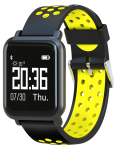 Smartwatch Garett Sport 17 black-yellow