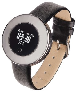 Smartwatch Garett Lea silver leather