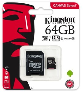 Karta pamięci Kingston 64 GB