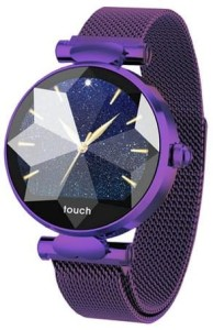 Smartwatch Garett Women Lisa violet steel