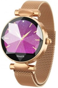 Smartwatch Garett Women Lisa gold steel