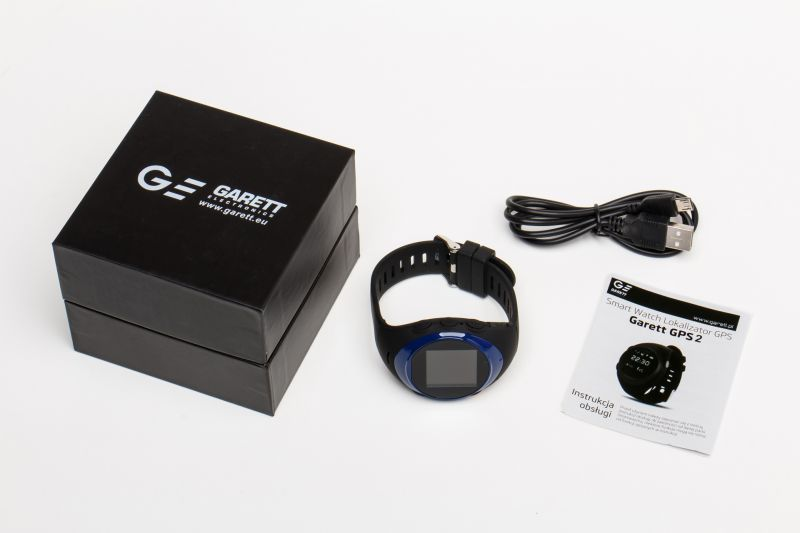 Garett Gps2 niebieski zestaw