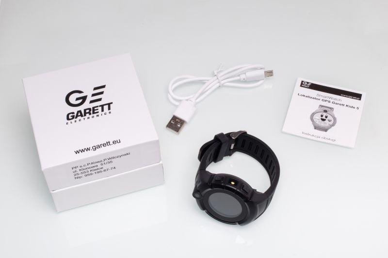 Garett Kids5 czarny zestaw