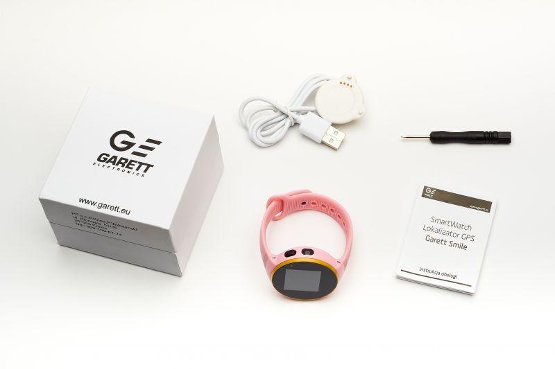Garett Kids Smile różowy zestaw