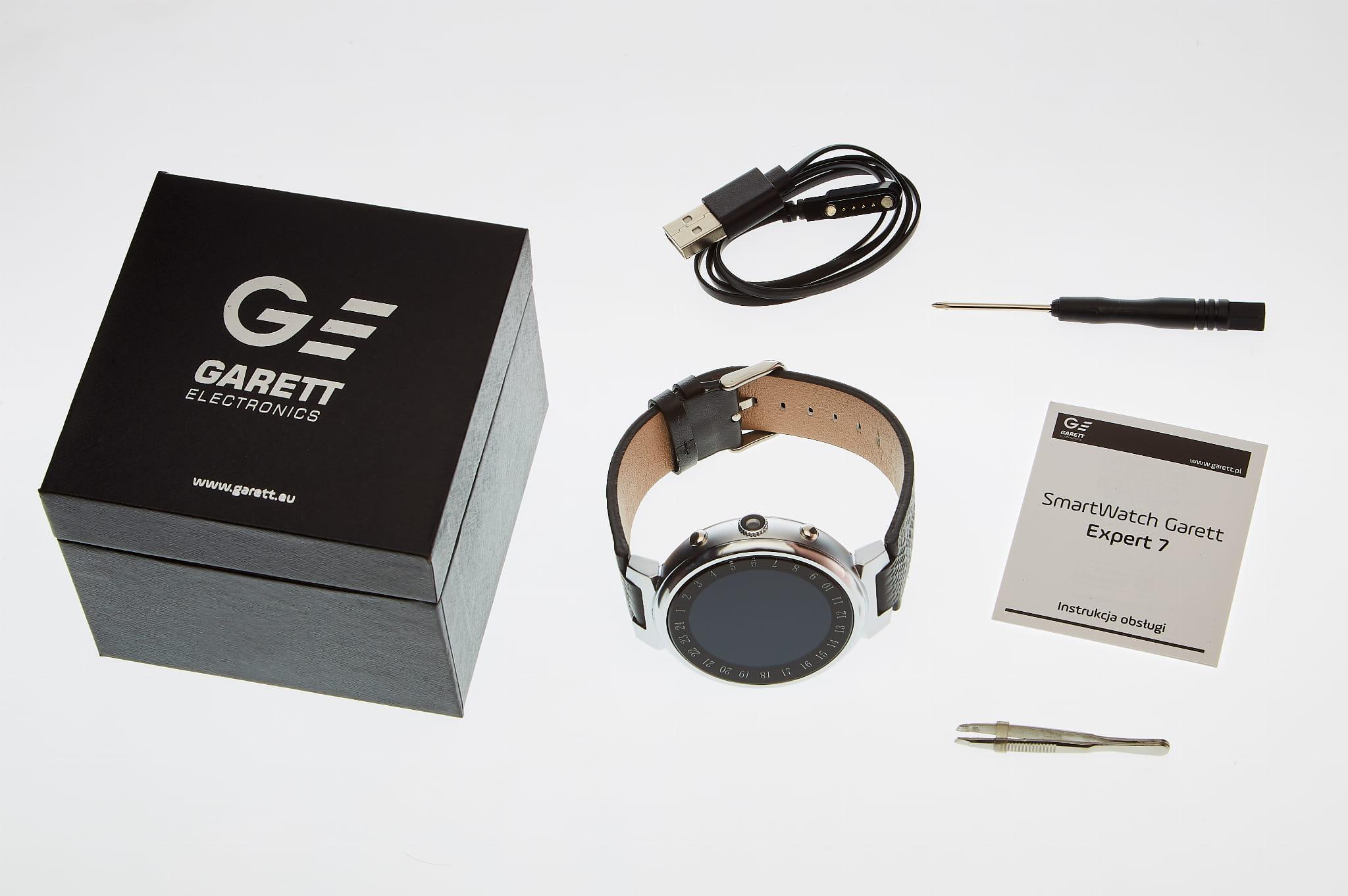 Smartwatch Garett Expert 7 silver