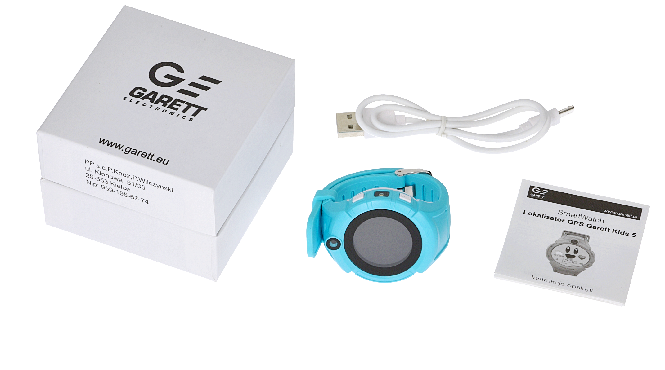 Smartwatch Garett Kids 5 blue